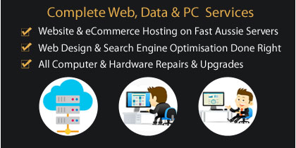 SEO company Hobart, website hosting, cloud servers, pc repairs and upgrades